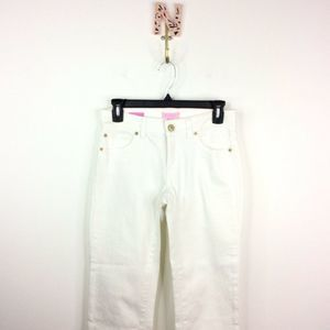 Lilly Pulitzer Main Line Fit Crop Jeans